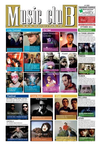 Live Concert Festival Live Band Club Recensioni DJ Set - Music Club