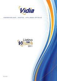 CONSULTA il catalogo/listino ViSoPlus e Accessori - VIDIA