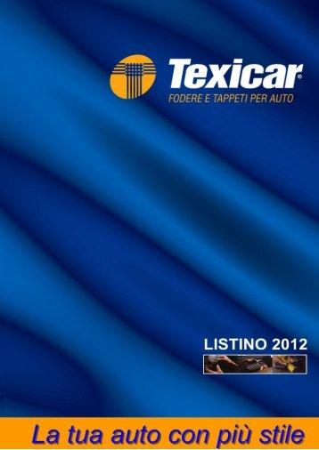 Listino completo 2012 - Texicar.It
