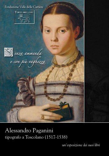 Alessandro Paganini - La Valle delle Cartiere