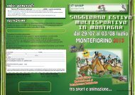 Brochure MONTEFIORINO - World Child asd