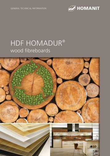 HDF HOMADUR® General Technical information