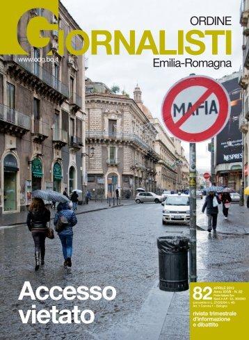 Accesso vietato - Ordine dei Giornalisti dell' Emilia-Romagna