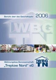 12/07 Bericht über das Geschäftsjahr 2006 - Wohnungsbau ...