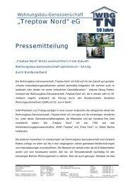 08/04 Ehrung durch den Bundesverband der GdW - Wohnungsbau ...