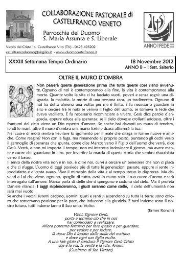 Parrocchia del Duomo S. Maria Assunta e S. Liberale
