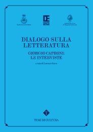 DIALOGO SULLA LETTERATURA - Comune di Livorno