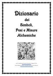 Dizionario dei Simboli, Pesi e Misure Alchemiche - Labirinto Ermetico