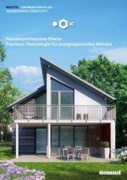 Fensterprofilsystem Eforte Premium-Technologie für ...