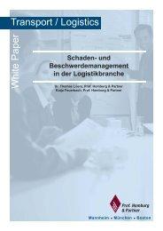 Schaden- und Beschwerdemanagement in der ... - Homburg & Partner