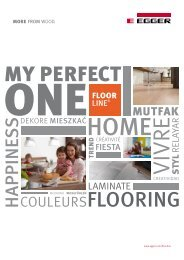 FLOORLINE® My Perfect One (PDF) - Fritz Egger GmbH & Co.
