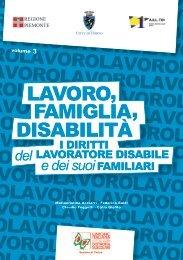 Volume 3 – Lavoro, famiglia, disabilità. I diritti del ... - ASL TO 1
