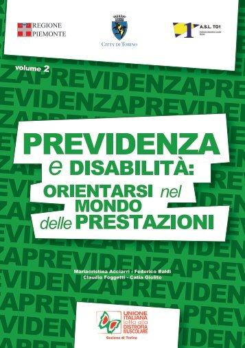 Previdenza e disabilità: orientarsi nel mondo delle ... - ASL TO 1