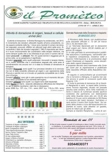 172) Prometeo -1-April 2013 - Comune di Bologna
