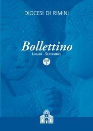 Luglio - Settembre Bollettino - Diocesi di Rimini