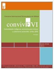 Concurso internacional universitario de hábitat convivE VI - A57