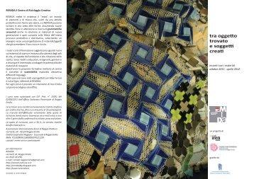 Incontri con i materiali - Reggio Emilia