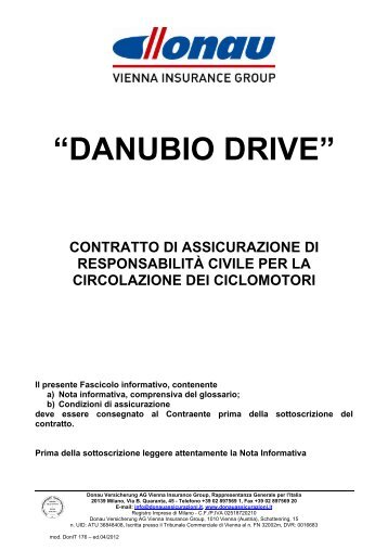 """DANUBIO DRIVE"" - Donau"