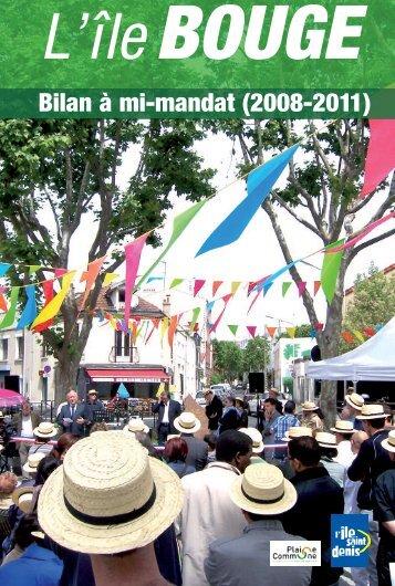 Bilan à mi-mandat (2008-2011) - Réseau des Communes