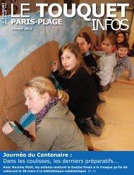 Touquet Infos Février 2012 - Le Touquet Paris-Plage