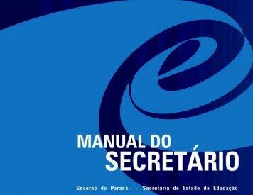 manual do secretário - Gestão Escolar
