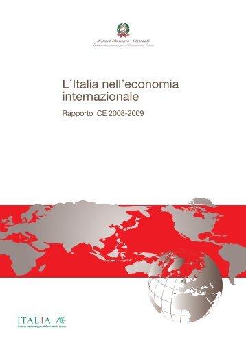 Rapporto ICE 2008-2009 - Biblioteca di Economia Sebastiano Brusco