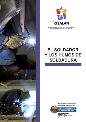 El soldador y los humos de soldadura. (pdf, 1,97 mb)