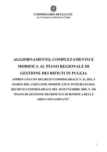 Scarica Allegato - home page - consorzio ato lecce 1