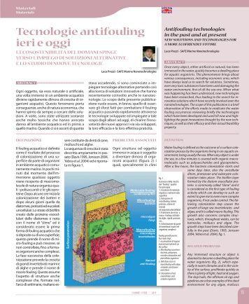 VIA MARE BY SEA- Numero 1, 2011 - Safe Nanotech