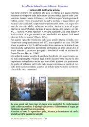 Generalità sulle aree umide - CRA Sirmione