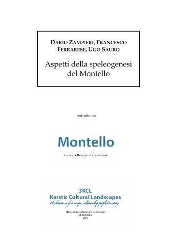 Aspetti della speleogenesi del Montello. Dario Zampieri, Francesco ...