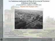 Il Rapporto ambientale - Politecnico di Milano