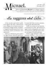Anno 3, n°2 - Dicembre 2004 - Associazione Michael