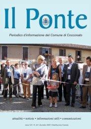 dicembre 2009.pdf - Comuni in Rete