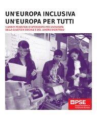 un'europa inclusiva un'europa per tutti - Socialists & Democrats