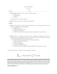 Economia Industriale a.a. 2010/2011 - Luca Correani