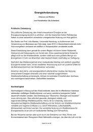 Anmerkungen zur Energieholznutzung - WBV Holzkirchen