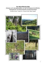 Gutachten zum Wald-Wild-Konflikt