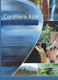 SERNANP. 2012. Parque Nacional Cordillera Azul ... - CIMA