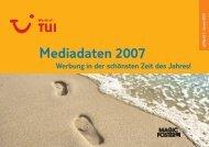 Mediadaten 2007 - WDV Gesellschaft für Medien & Kommunikation ...