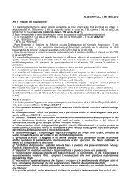 Regolamento per la disciplina della gestione dei rifiuti urbani e dei ...