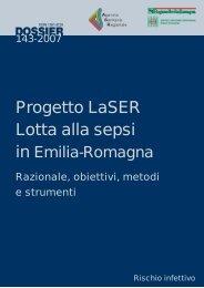 Progetto Laser, lotta alla sepsi in Emilia-Romagna - apicella