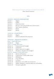Proposta di statuto tipo delle Unioni dei Comuni 6 - Statuti.anci.it