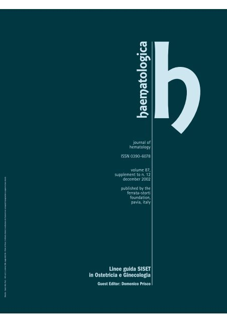 Linee guida SISET in Ostetricia e Ginecologia - Terapia compressiva