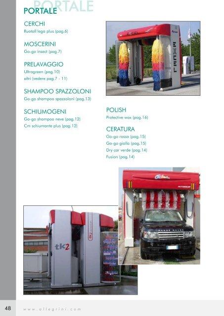 Scarica il catalogo Auto - LUBRICHIMICA SpA
