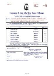Delibere della Giunta Rel. 2.0 - Comune di San Martino Buon Albergo