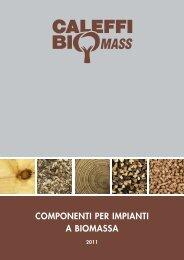 COMPONENTI PER IMPIANTI A BIOMASSA - Coassifin.it