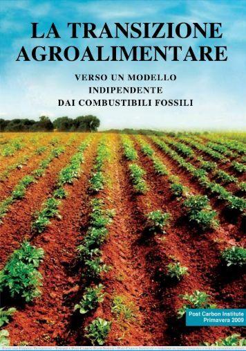 La transizione agroalimentare - Transition Italia