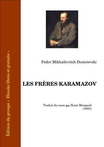 Les frères Karamazov - Ebooks libres et gratuits