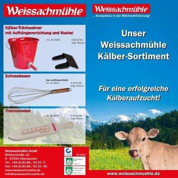 Unser Weissachmühle Kälber-Sortiment
